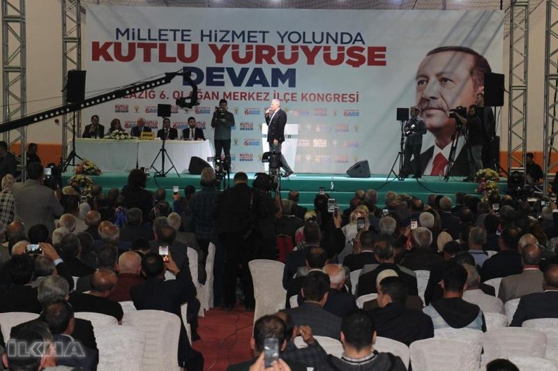 AK Parti Genel Başkan Vekili ve Başbakan Binali Yıldırım Fırat Üniversitesi Akademik yılı açılışı ve AK Parti Elazığ 6. Merkez İlçe Olağan Kongresine katılmak üzere Elazığ'a geldi.
