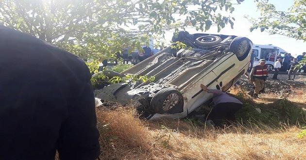 Kovancılar'da trafik kazası: 2'si ağır 5 yaralı