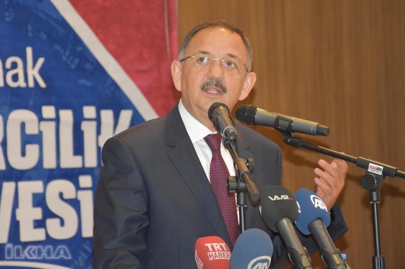 Bakan Özhaseki'den Batılı ülkelere: Kan ve nifak götürdünüz