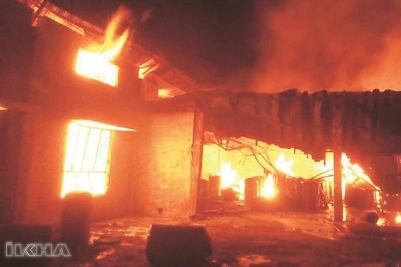 Çin'de bar yangını: 18 ölü, 5 yaralı