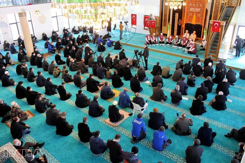 Elazığ depreminde vefat edenler için anma programı düzenlendi