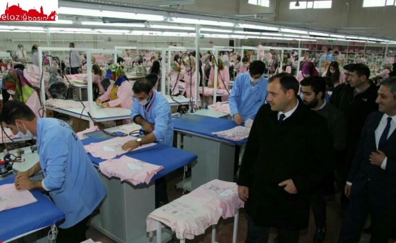 Elazığ İŞKUR Meslek Edindirme Kurslarıyla Tekstile Destek Oluyor