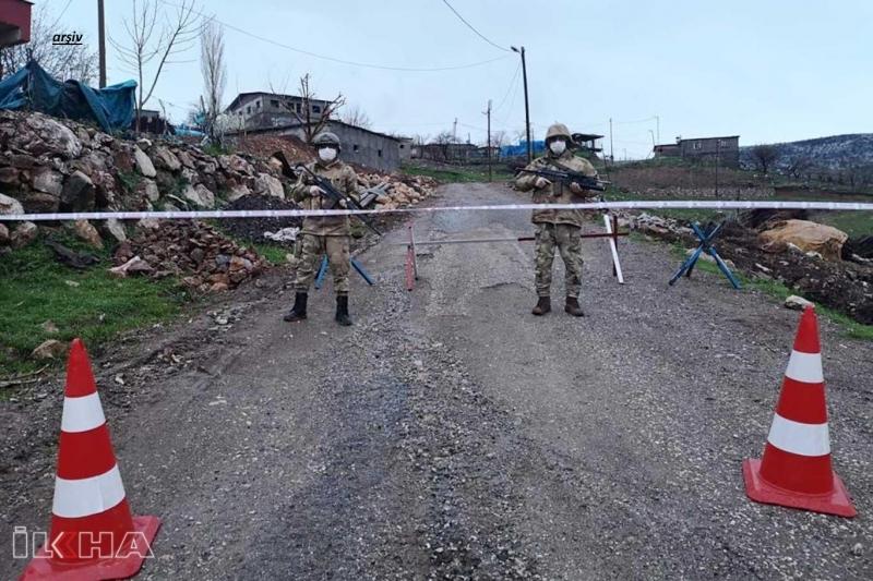 Elazığ`da 2 köy karantinaya alındı