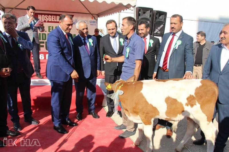 Elazığ'da 3'üncü Gıda Tarım ve Hayvancılık Fuarı açıldı