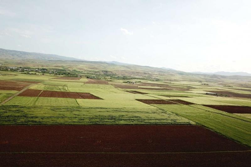 Elazığ'ın ilçelerinde arazi toplulaştırma çalışmaları devam ediyor