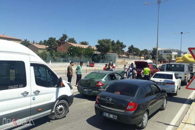Elâzığ'da iki farklı zincirleme kaza