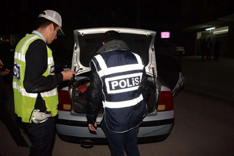 Elâzığ'da son bir haftada asayiş uygulamalarında 131 kişi yakalandı