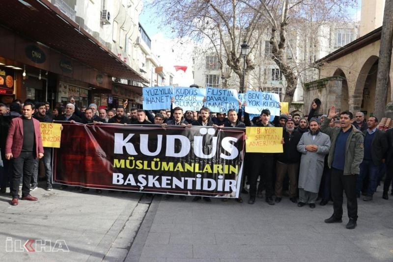 Gaziantep halkı: Kudüs İslam ümmetinin ortak payesidir