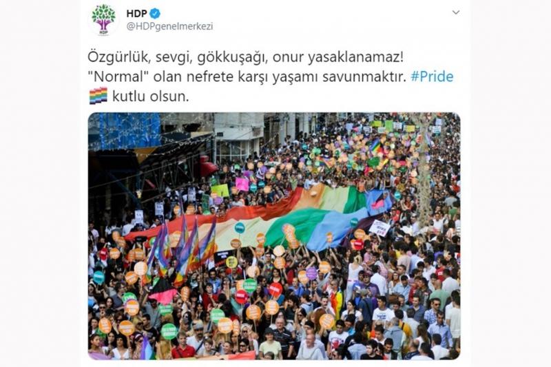 HDP yine sapkınlığa arka çıktı