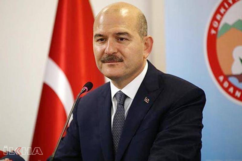 İçişleri Bakanı Soylu Türkiye'de hayat yüzde 80 durdu 12 köy ve belde karantinada