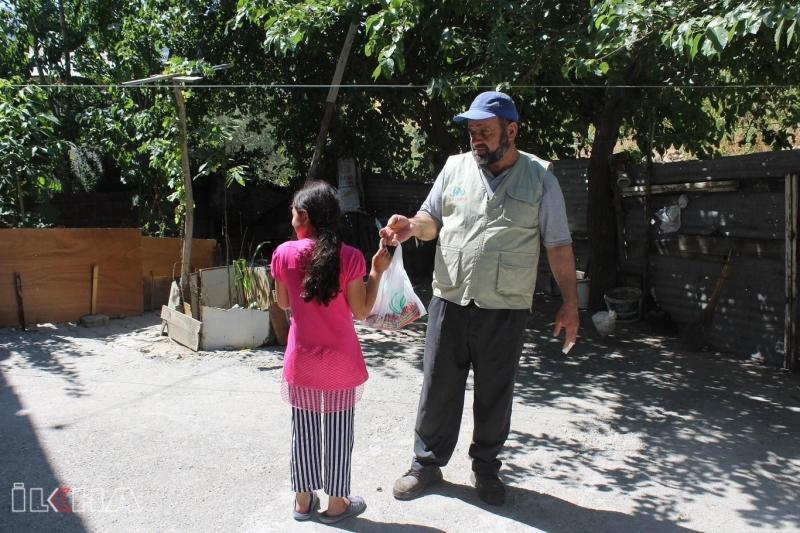 İHO-EBRAR Palu ve Kovancılar`da 80 aileye kurban eti dağıttı