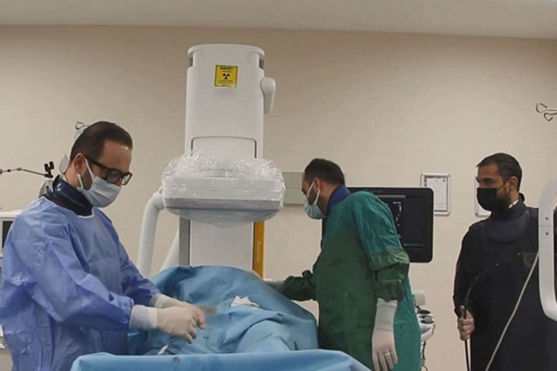 Kalbi delik olan hastalar ameliyatsız yöntemle sağlığına kavuşuyor