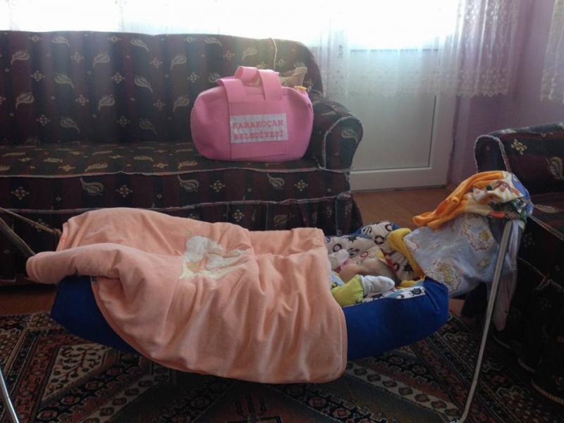Karakoçan Belediyesinden Hoş Geldin Bebek Projesi-FOTO GALERİ