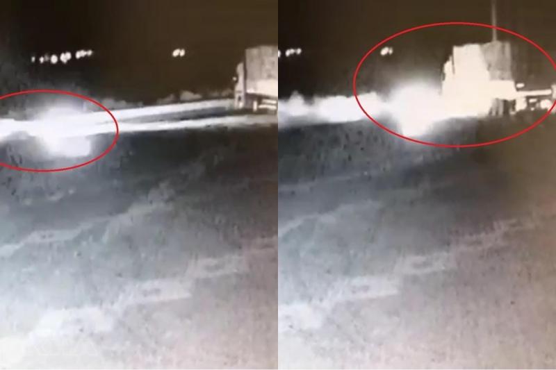 Kovancılar`da 3 kişinin öldüğü kaza güvenlik kamerasına yansıdı