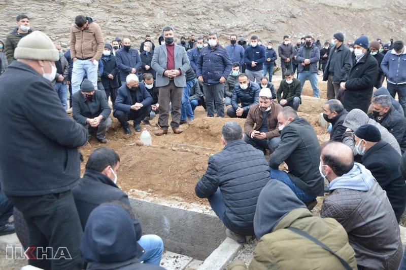 Maden ocağı kazasında vefat eden şahıs defnedildi