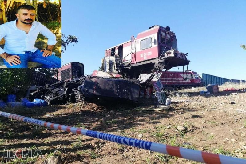 Malatya'da yük trenleri kafa kafaya çarpıştı: Bir ölü 4 yaralı-VİDEO