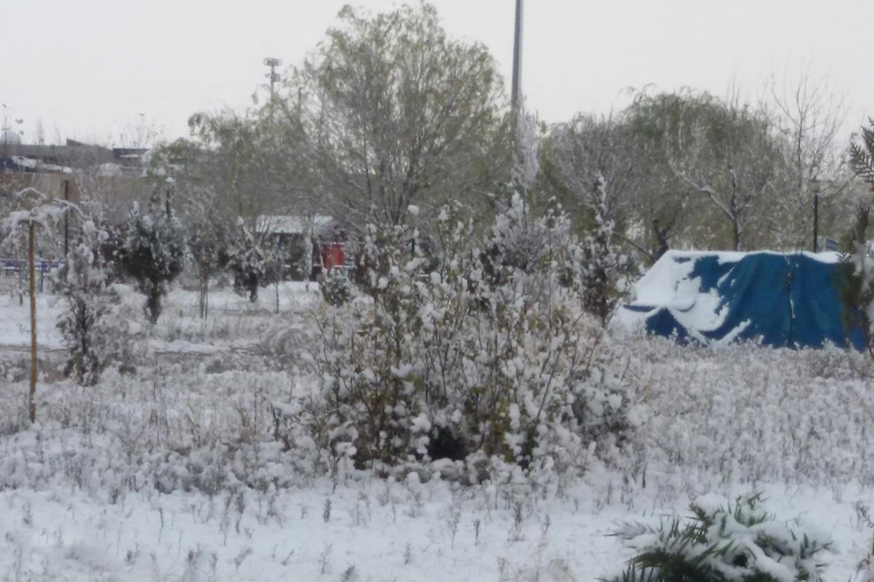 Meteorolojiden deprem bölgesi için kuvvetli kar uyarısı