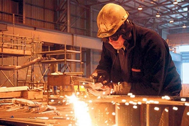Sanayi üretimi yıllık yüzde 19,9 azaldı