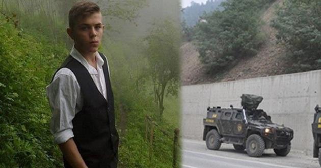 PKK Trabzon'da çocuk öldürdü.