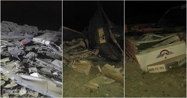 Elazığ'da yük treni raydan çıktı: 2 ölü